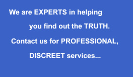 Professional and Discreet - private detective in York